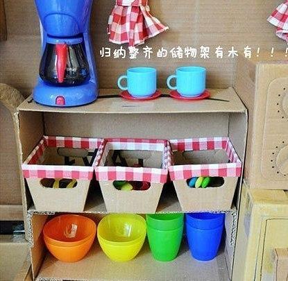 Картона своими руками детская кухня