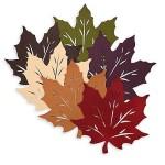 осенние листья из фетра