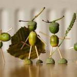 Осенние поделки из желудей