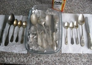 как чистить серебро в домашних условиях