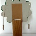 Поделка из бумаги дерево