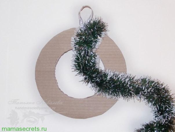 Новогоднее украшение из бумаги своими руками балерина