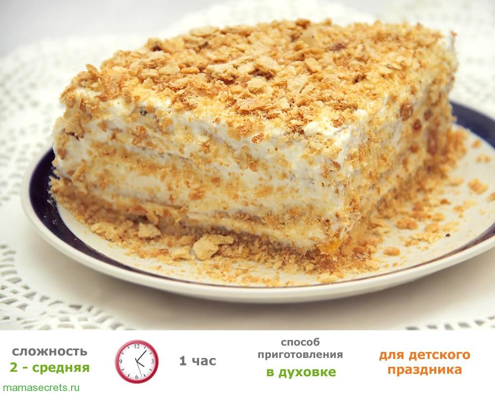 Рецепты торта для ребенка