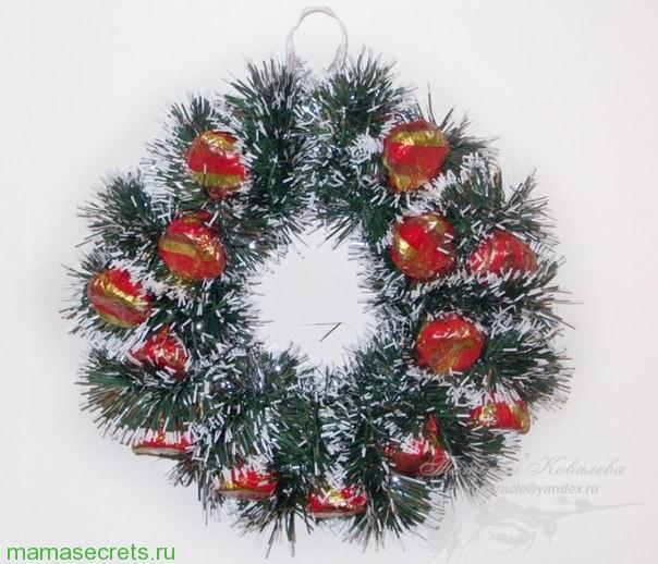 Новогодняя елочка своими руками из фетра выкройки