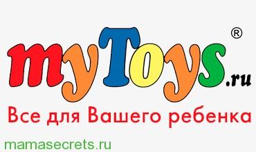 Mytoys.ru код на скидку в детском интернет-магазине Май тойз