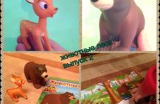 Деагостини Животные леса 2 выпуск