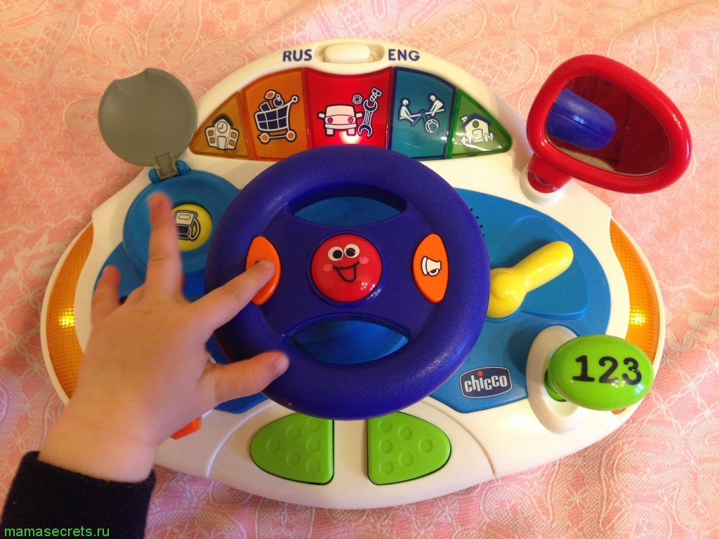 chicco руль игрушка