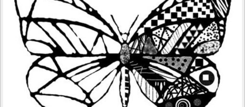 Как нарисовать бабочку?