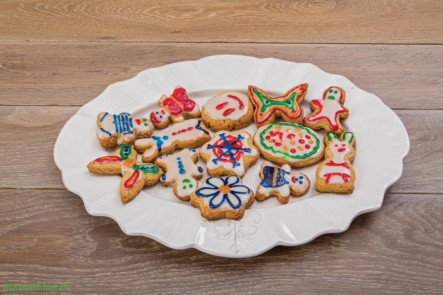 детское имбирное печенье