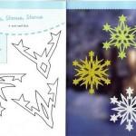 Красивые снежинки своими руками шаблоны