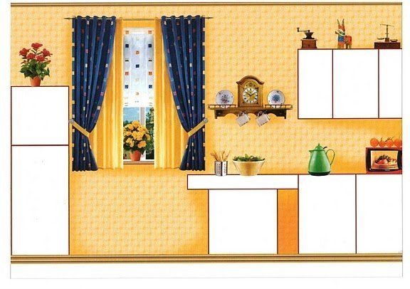 Мебель в кукольном домике