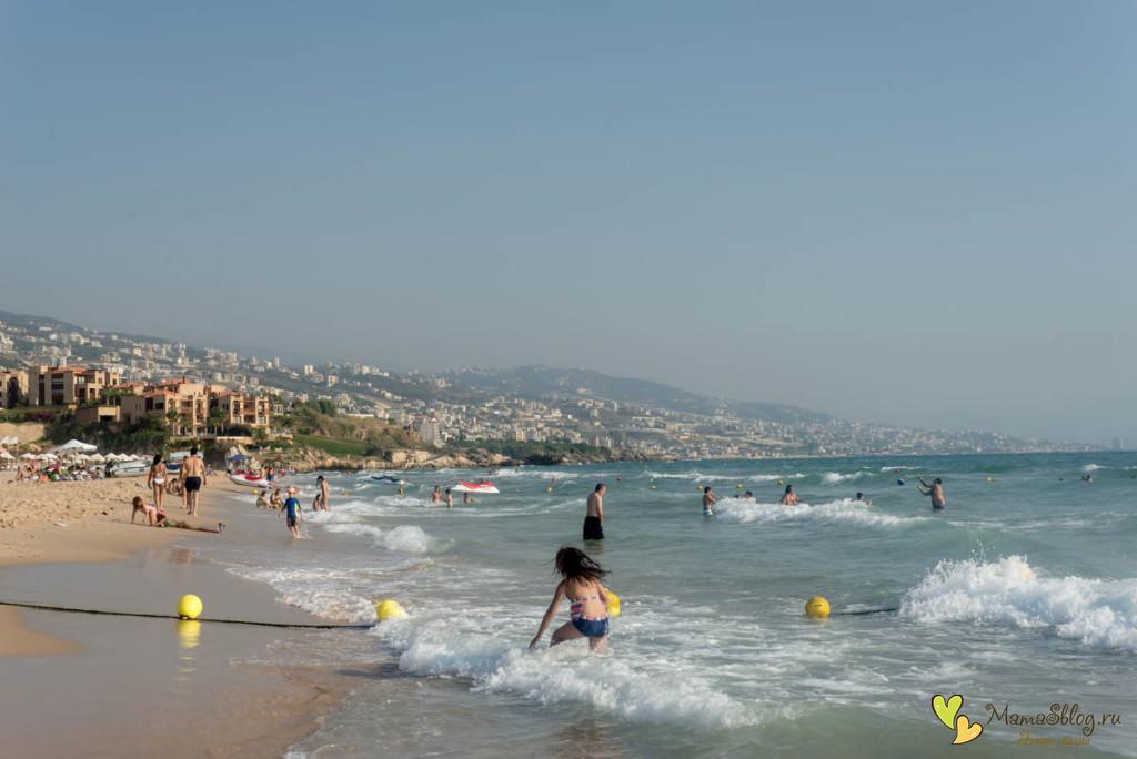 Платный пляж Ливана