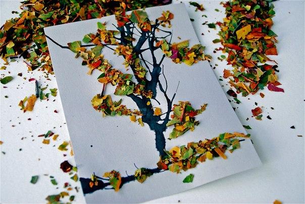 Бумажные поделки на тему Осень