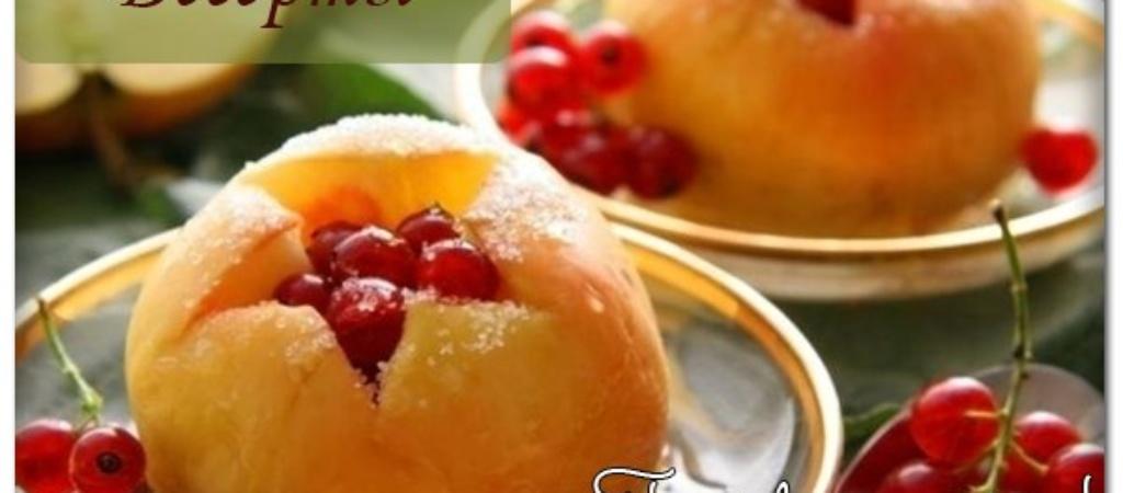 Запеченные яблоки. Рецепт
