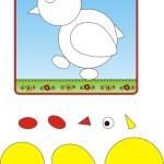 аппликации из бумаги для детей