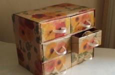 Поделки из коробков