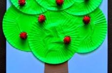Поделка «Яблони»
