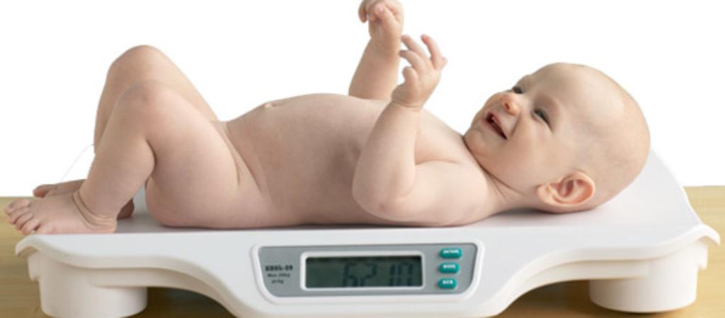 Вес ребенка по месяцам
