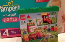 Лего дупло в подарок в Детском Мире