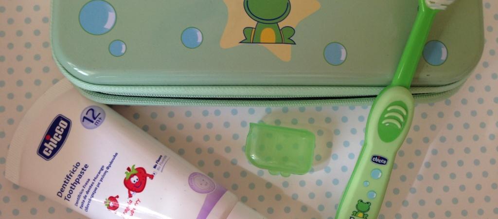Chicco Набор детский для чистки зубов