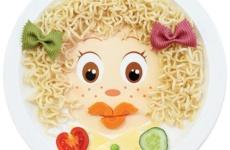 Тарелка с лицом Lubby. Food Face