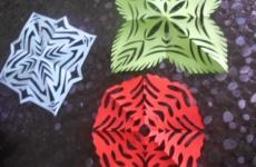 Снежинки мастер-класс+ Схемы и шаблоны