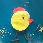 поделка цыпленок