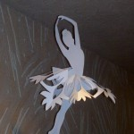 снежинки балерина