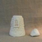 домик из соленого теста