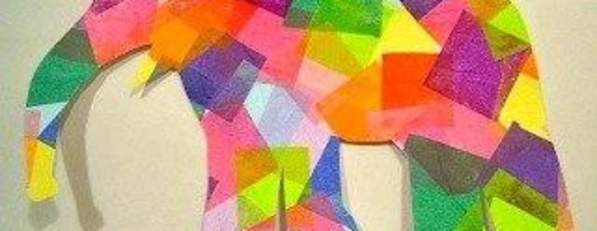 Мозаика из бумаги своими руками