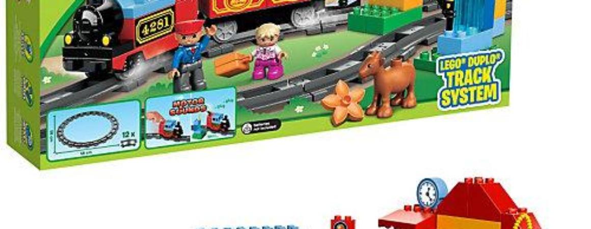 Железная дорога Лего Дупло. Отзыв