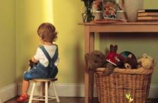 Воспитание ребенка и наказание
