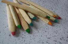 Печенье детское «Карандаши». Рецепт